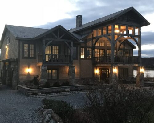 Hand Hewn Beams - Antique Material