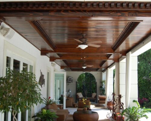 Ceiling & Wall Planking