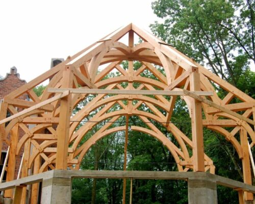 Trusses & Timber Framing – New Wood