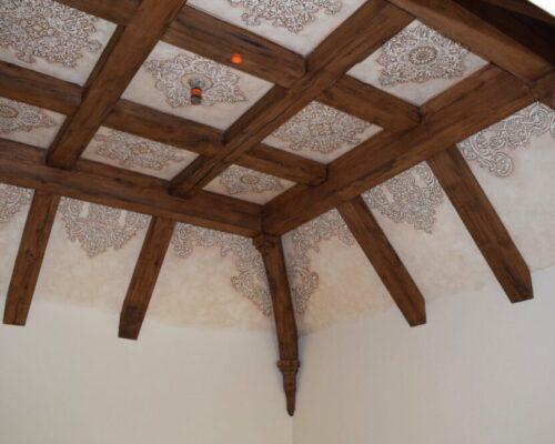 White Oak Beams - Antique Material