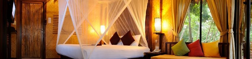 One of the beach theme bedroom ideas.