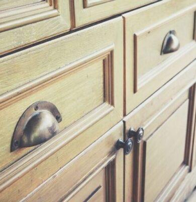 How to make wood drawers slide easier.