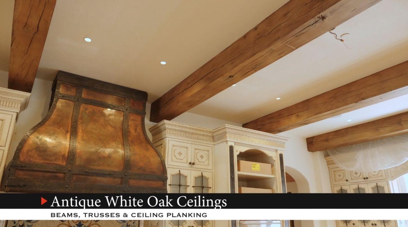 Antique White Oak Ceilings