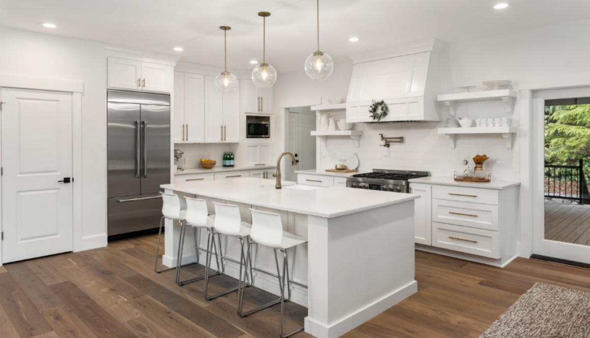 An example of a great kitchen design layout.